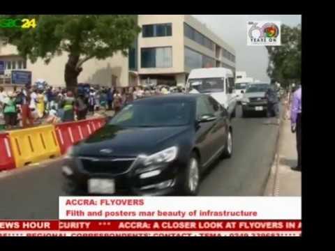 State Of Flyovers In Ghana