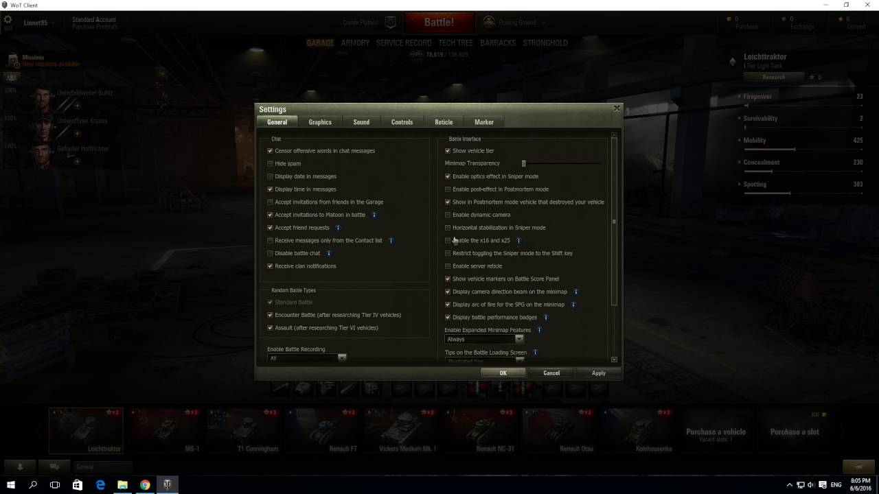 How To enable increased zoom in sniper mode In World of Tanks