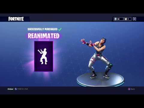 NEW DANCE REANIMATED FORTNITE BATTLE ROYALE