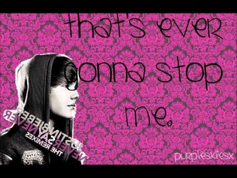 Justin Bieber - Born To Be Somebody (Studio Version W. Lyrics)