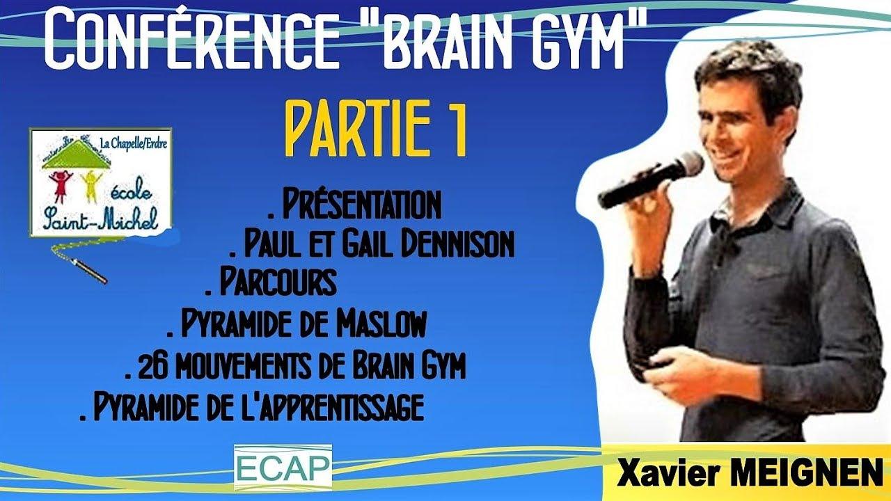 Brain Gym et Apprentissages scolaires - Partie 1