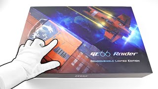 MSI GE66 Raider Gaming Laptop Unboxing - Spaceship Limited Edition! (Nvidia RTX, 300Hz Display)