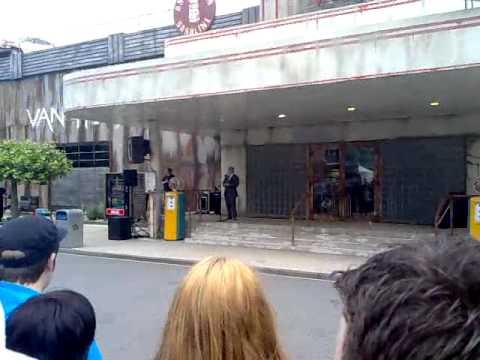 Van Helsings Factory - Movie Park Germany - Eröffnungszeremonie