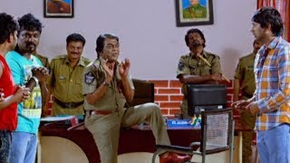 Varun Sandesh & His Friends Police Station Comedy Scene || Latest Comedy Scenes || TFC Comedy Time
