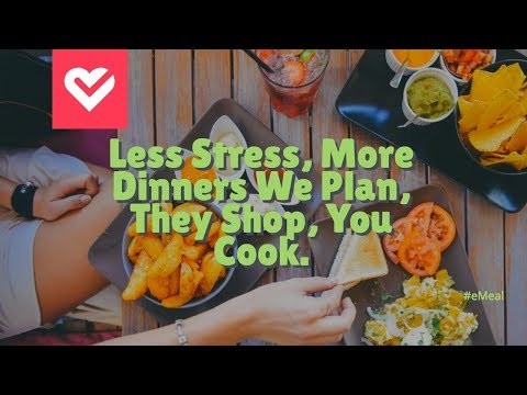 #eMeals | A eMeal Review' | The Best 5 Dollar Meal Plan for your family,,👨👩👦 🍇🥑🛒