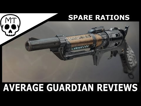 Spare Rations - New Gambit Hand Cannon | IT'S AMAZING | Destiny 2 thumbnail
