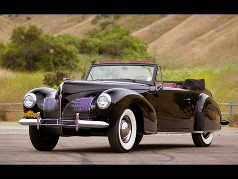 1940 Lincoln Continental Cabriolet 200 750 Sold