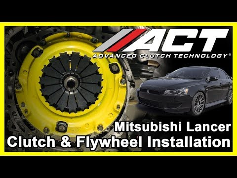 ACT Clutch Install:  2008 – 2017 Mitsubishi Lancer 2.0L and 2009 – 2017 Lancer 2.4L