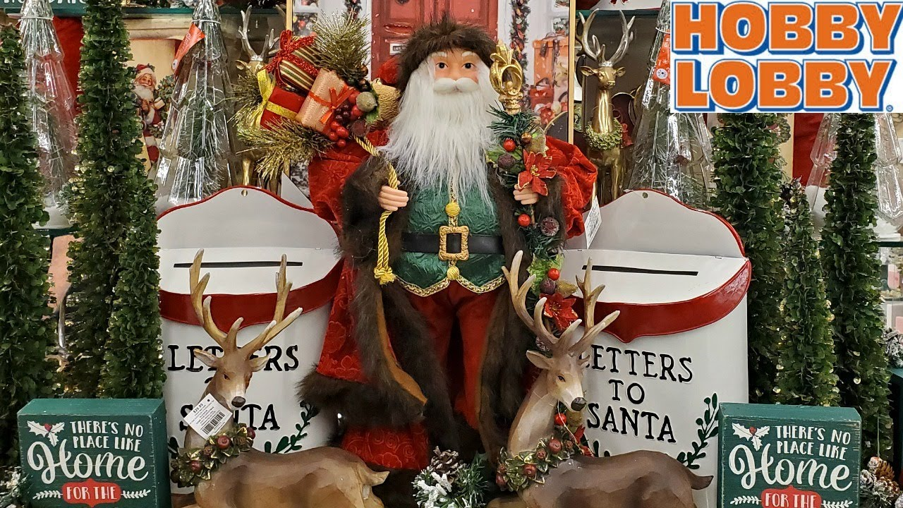 Hobby Lobby Christmas Decorations On Sale 2020 Shop With Me Walkthrough Youtube