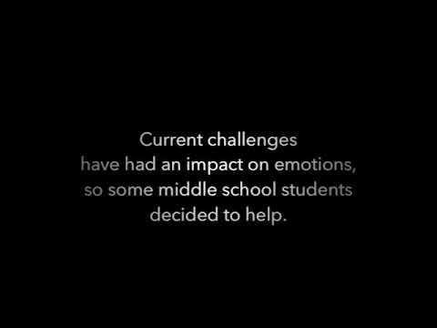 Harmony Science Academy Pflugerville Middle School Student Council, Encouragement Challenge. Vid-2A