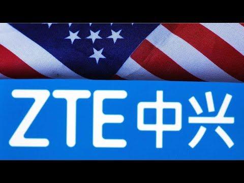 China's ZTE opposes US trade ban