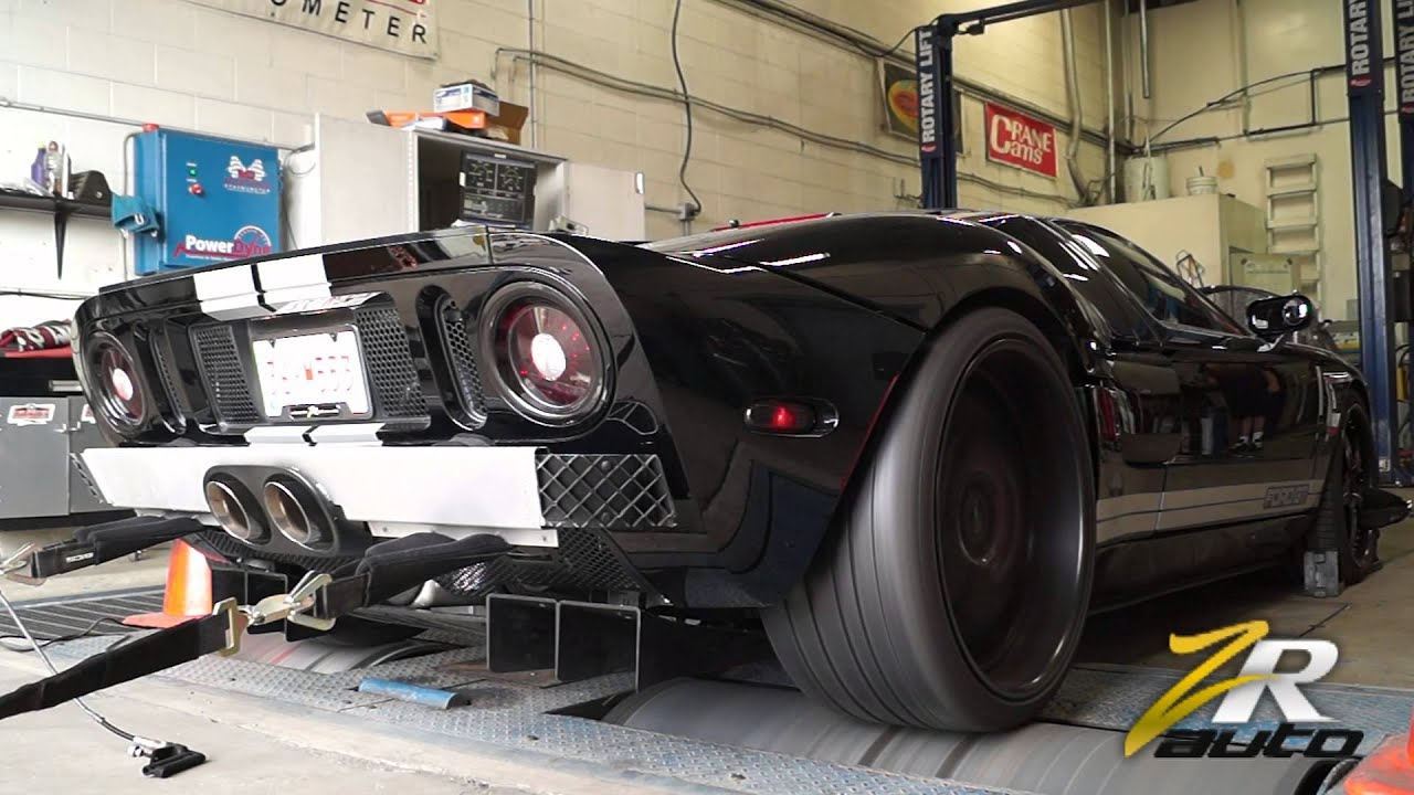 Heffner Ford Gt And Lamborghini Gallardo Roaring On The Dyno After Youtube