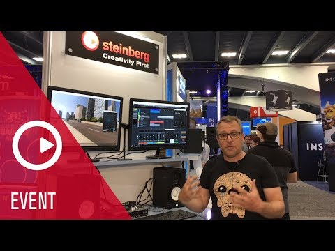 Steinberg Virtual Reality Demonstration in Nuendo | Game Developers Conference 2018