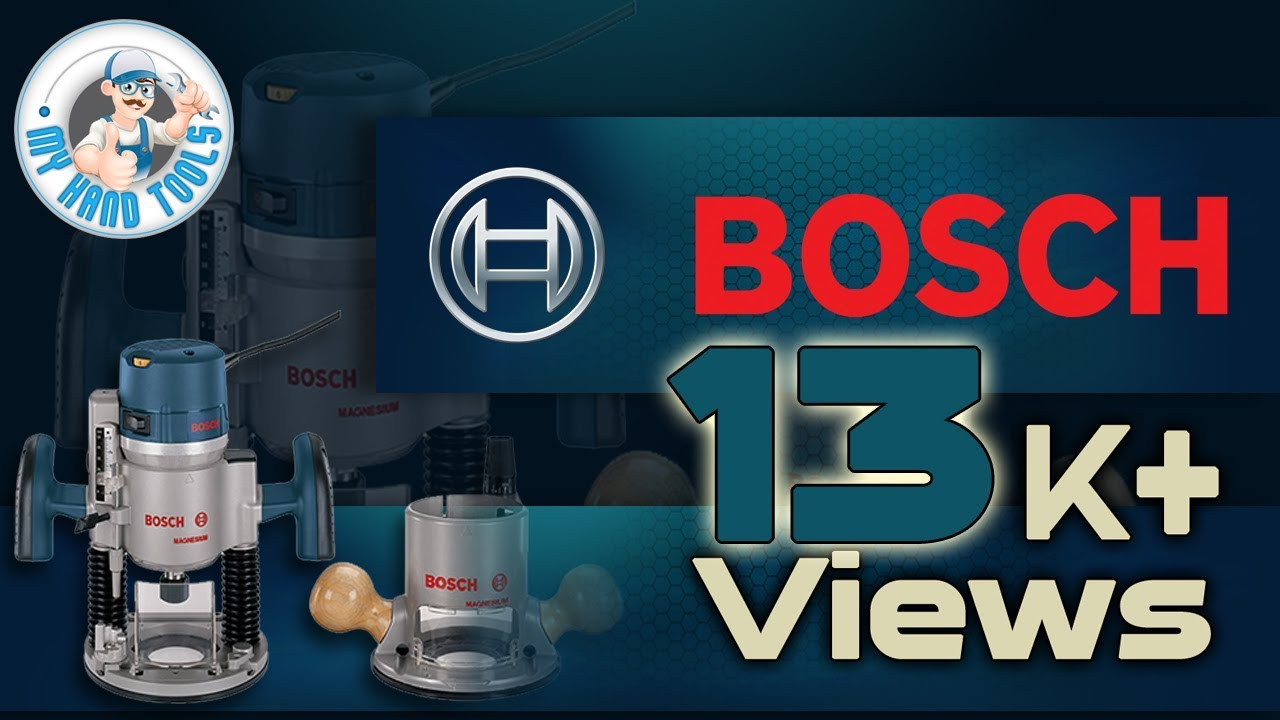 Best wood routers - Bosch 1617evspk review - YouTube