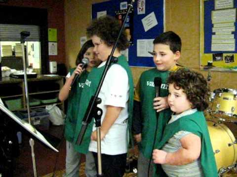 soup kitchen BYOB, Kids do Karaoke