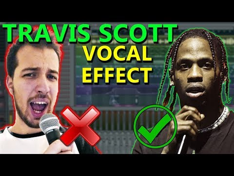 How To Make VOCALS Like Travis Scott (if You Can't Sing) - FL Studio Tutorial