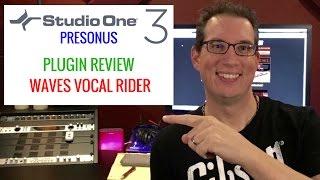 Presonus Studio One & Waves Vocal Rider