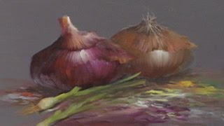 "The Beauty of Oil Painting, Series 1, Episode 22 "" Onion Still Life """