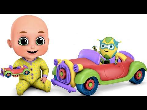 Surprise Eggs | Car Toys for Kids - Vintage Car | Surprise Eggs Toys from Jugnu Kids