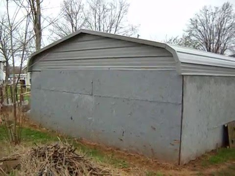 Carport Into Garage Youtube