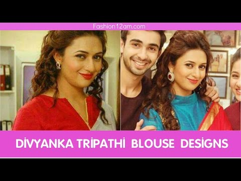 Divyanka Tripathi (Ishita) Blouse Designs - Yeh Hai Mohabbatein