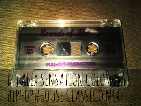 D.J ALEX SENSATION COLOMBIA FREESTYLE MIX TAPE IN 1994