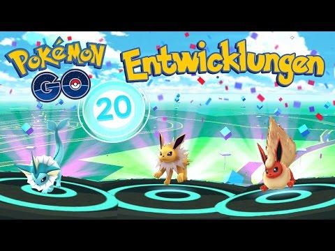 6x Evoli Entwicklung & 60.000 EP in 30 Minuten • Pokemon Go deutsch