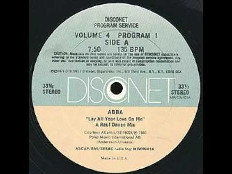 Abba lay all your love on me disconet remix