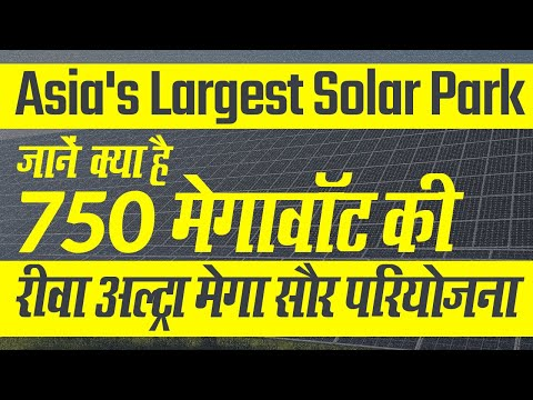 Asia's Largest Solar Power Plant: जानें क्या है Rewa Ultra Mega Power Project