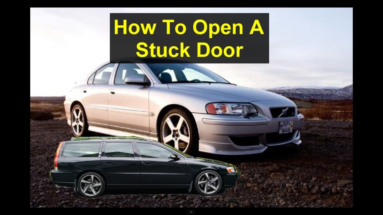 How To Open A Stuck Door On 2001 And Newer Volvo S60 V70 S80 Window Wiring Diagram Schematics Diagrams Etc