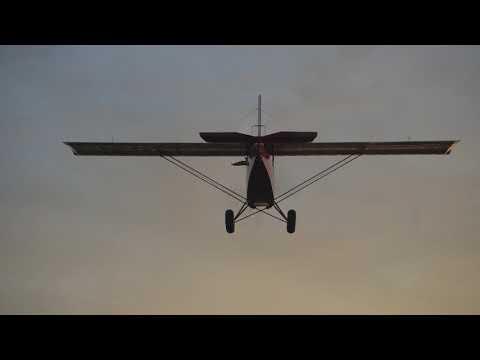 Flying the One Dollar Pietenpol Part II AIR TO AIR SHOTS