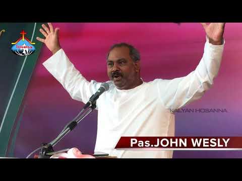 12 hours fasting prayer @ HOSANNA MINISTRIES GORANTLA Message By PAS.JOHN WESLEY HOSANNA MINISTRIES