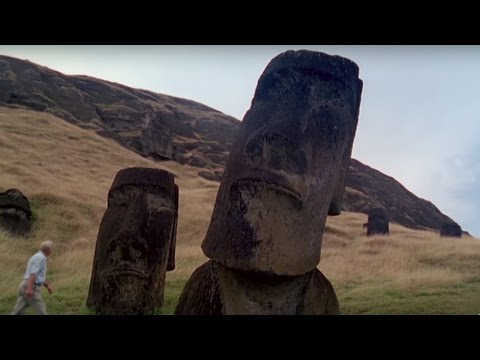 Where Did The Easter Island Statues Come From? - #Attenborough90 - BBC
