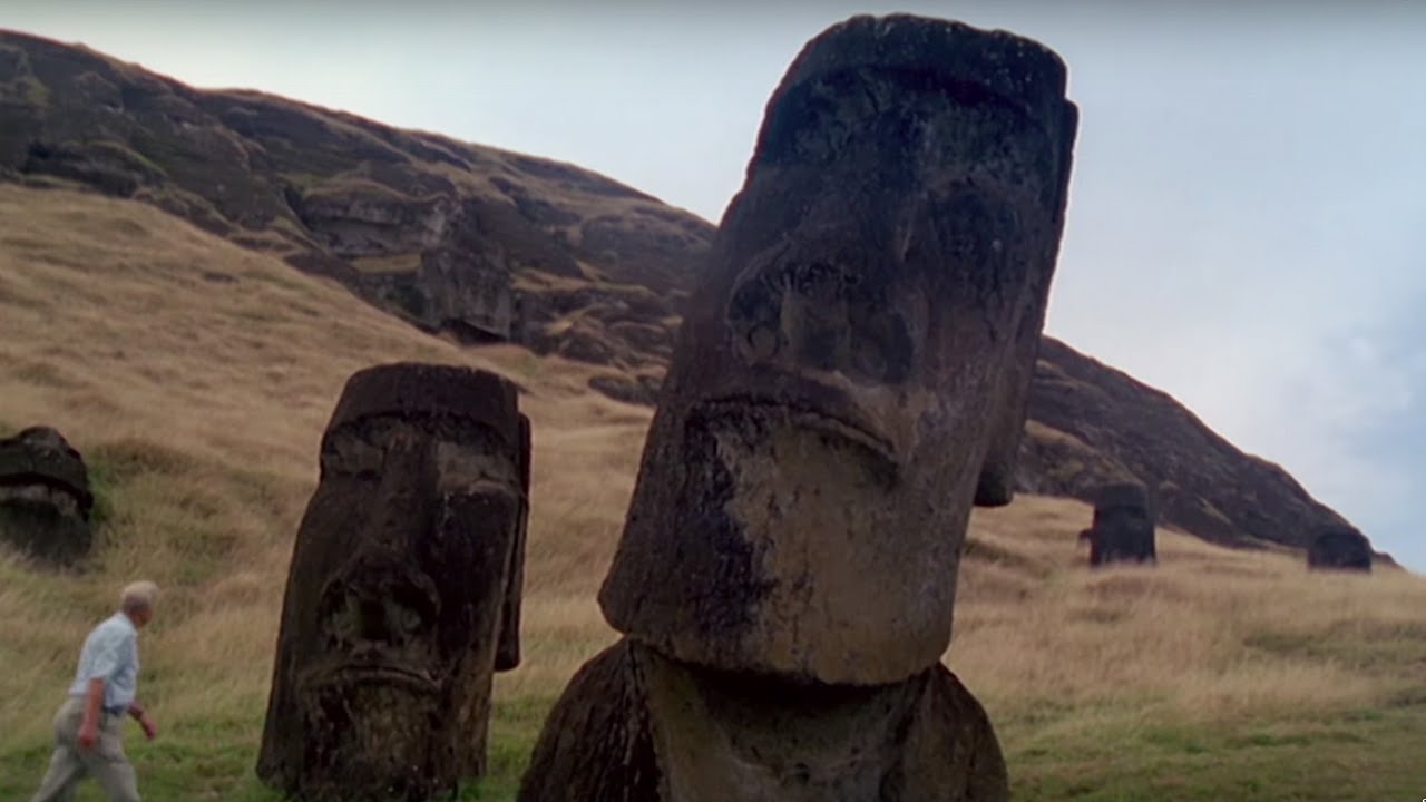 How Did The Easter Island Heads Get There
