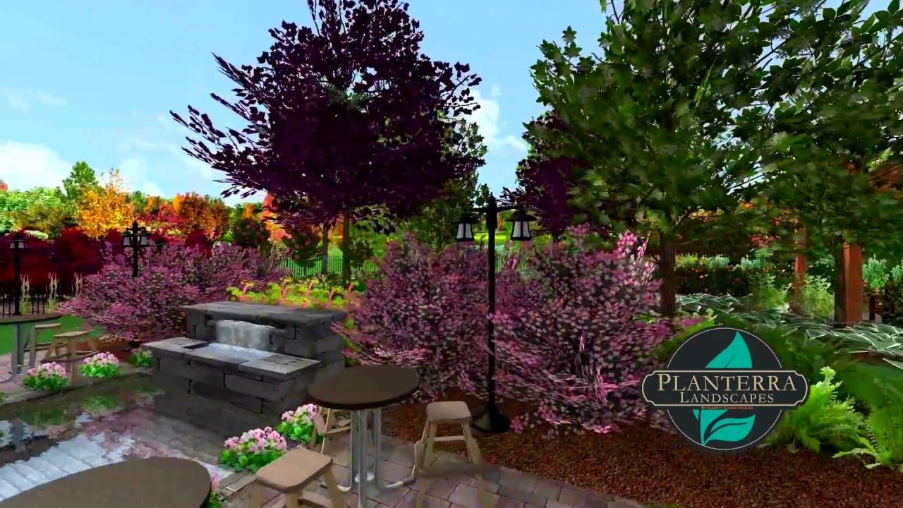 Acreage Subdivision Yard 3d Landscape Design Walkthrough
