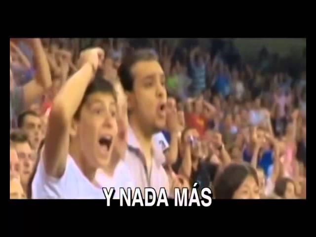 nouvelle chanson de Real Madri