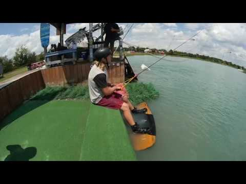 Sitting Dock Start - JB ONeill - Cable Wakeboarding