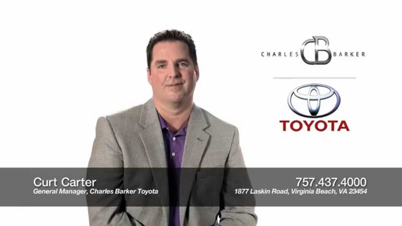 Curt Carter, General Manager Of Charles Barker Toyota, Welcomes You