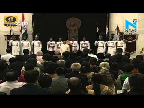 President Pranab Mukherjee confers Padma Awards 2016