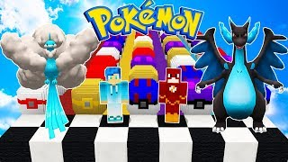 MEGA CHARIZARD VS TODOS LOS LUCKY BLOCK PIXELMON 😱 | MINECRAFT MOD PIXELMON LUCKY BLOCK POKEMON