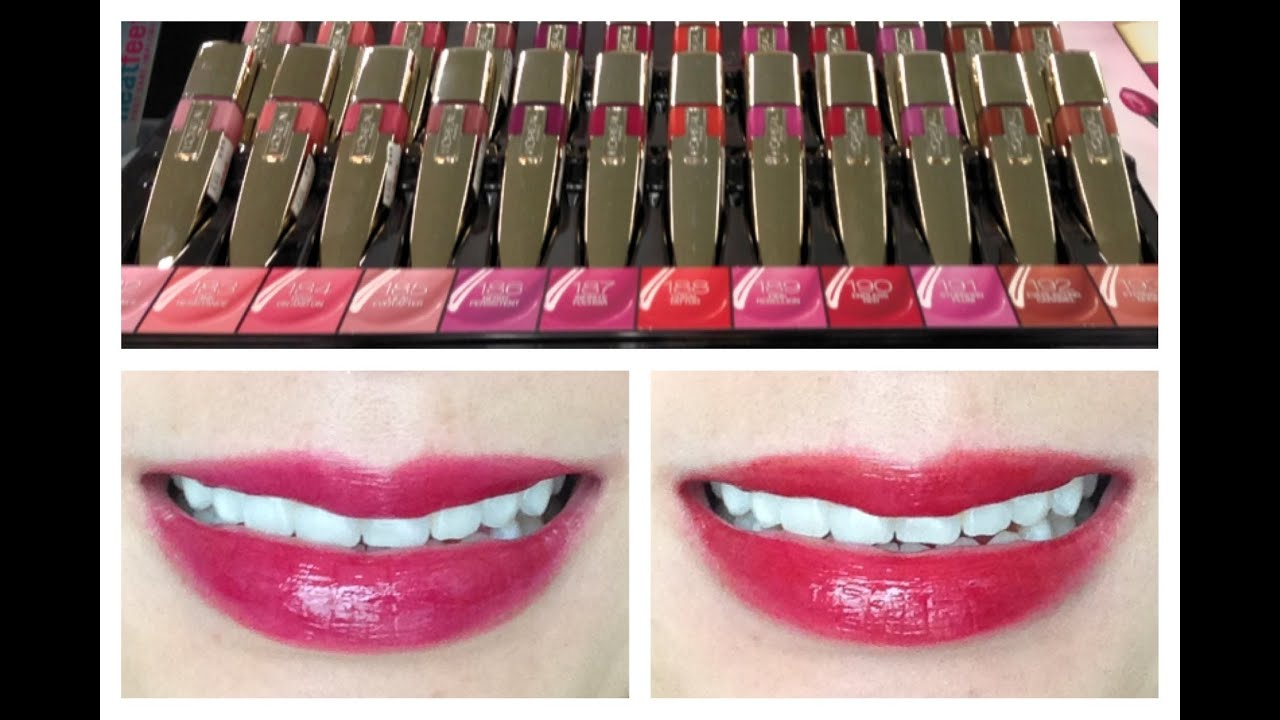 Loreal colour caresse wet shine stain - L Oreal Color Caresse Shine Stain Ysl Dupe