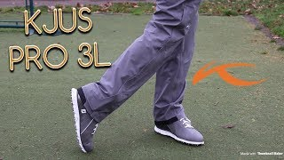 The BEST Waterproof Trousers for Golf   KJUS Golf Pro 3L Trouser Review