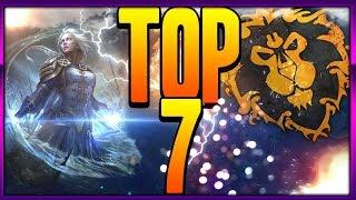 🔥Personajes más PODEROSOS de la ALIANZA actualmente [Top 7] World Of Warcraft. WOW [Análisis] [Lore