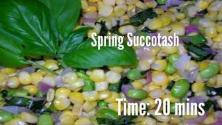 Spring Succotash Recipe