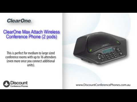 ClearOne Max Attach Wireless Video Overview
