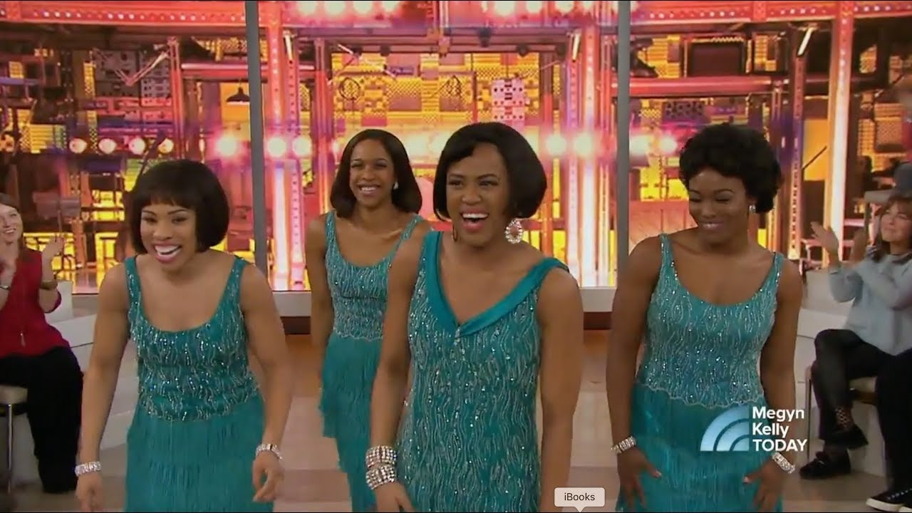 Kerissa Arrington Sings 'One Fine Day' With The Cast Of