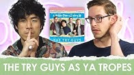 The Try Guys Match Their Personalities to YA Tropes   Epic Reads