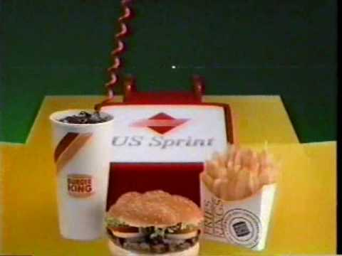 1990 Burger King Christmas Commercial