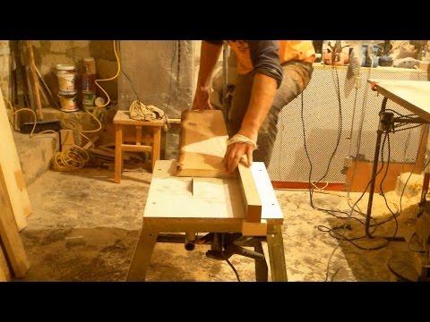 видео: Циркулярка своими руками быстро, building a table saw