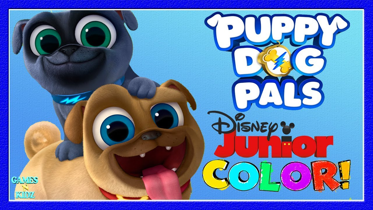 Puppy Dog Pals - Coloring Pages Games For Children ...
